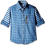 Gini and Jony Baby Boys' Shirt (121012522762 7000_Blue_12 - 18 months)