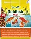 Tetra Pond Goldfish Mix, Hauptfutter für Goldfische im Gartenteich, 4 L Beutel