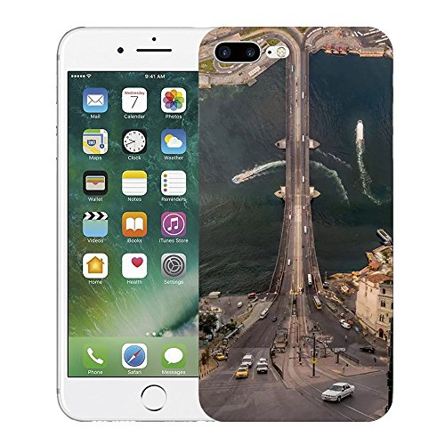 Custodia iPhone 6 Puls Cover, iPhone 7 Puls Clear Soft TPU Protective Case Back Cover with Cute Cartoon Pattern [Slim Fit] [Ultra Thin] for 5.5 inches iPhone 6s Puls (5) 7