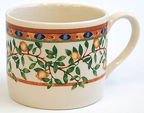 Set von 6Johnson Brothers Wedgwood Porzellan Kaffee Tassen, Tee Tassen Priory Lemon Tree Design Johnson Brothers Cup