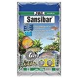 JBL Bodengrund Grau für Süß- und Meerwasser Aquarien, Sansibar Grey 10 kg, 67063