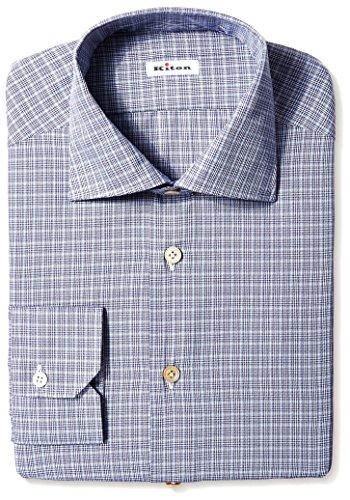 kiton-mens-gingham-dress-shirt-grey-40-us