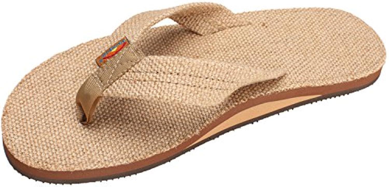 Sandalias Rainbow MyBrand [Marrón, Large]  Zapatos de moda en línea Obtenga el mejor descuento de venta caliente-Descuento más grande