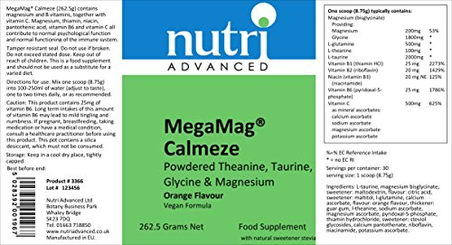 Nutri Advanced MegaMag Calmeze 262.5g