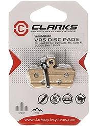 Clarks VRS859 - Clarks Elite Semi-Metallic Disc Brake Pads for Avid XO Trail, Sram Guide, RSC, Guide RS, GUIDE R, Avid XO Trail, Elixir 7 , Elixir 9