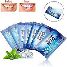 Tiras para blanquear los dientes, 50 piezas Toallitas húmedas para limpiar los dientes Limpiar la