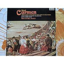 Georges Bizet: Carmen (Gesamtaufnahme in französischer Sprache - London 1975) [Vinyl Schallplatte] [3 LP Box-Set]