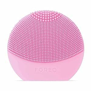 FOREO LUNA play plus spazzola viso portatile Pearl Pink, Spazzola impermeabile con batteria sostituibile