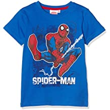 Spiderman Chicos Camiseta manga corta - Azul