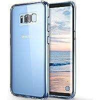 Coque Galaxy S8 , ikalula Galaxy S8 Housse Silicone Flexible gel TPU [Absorption de Choc] [Liquid Crystal] Résistant aux rayures Très Légère Coque pour Samsung Galaxy 8 - transparent
