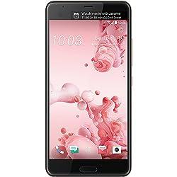 HTC U Ultra Smartphone débloqué 4G (Ecran: 5,7 Pouces - 64 Go - Nano-SIM - Android) Rose poudré