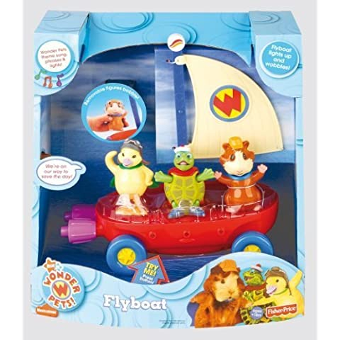 Fisher-Price Wonder Pets Fly Boat by Wonder Pets
