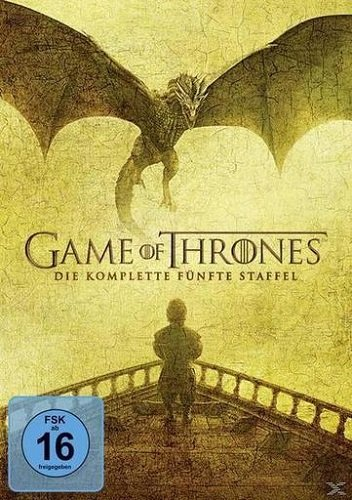 game of thrones staffel buecher Game of Thrones - Die komplette 5. Staffel [5 DVDs]