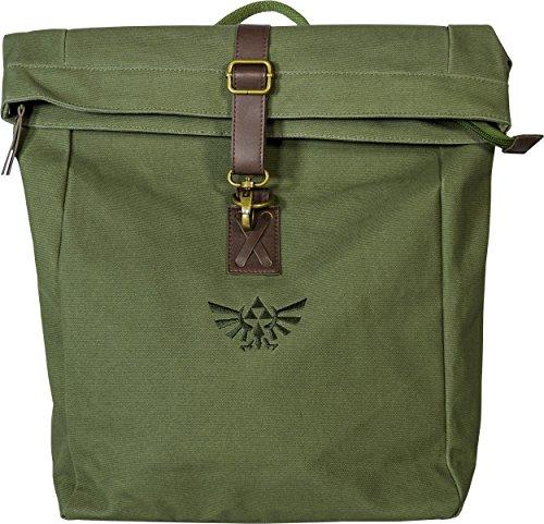 Musterbrand-Zelda-rucksack-Link-Loot-Wasserabweisend-Grn-One-size