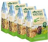 Dehner Best Nature Nagerfutter für Ratten, 500 g, 4er Pack (4 x 500 g)