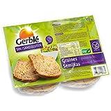 Gerblé - Pain Aux Graines Sans Gluten - (Prix Par Unité ) - Produit Bio Agrée Par AB