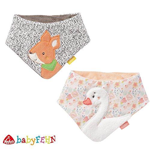 BabyFehn Baby-Halstuch 2er Set // 0-12 Monate // Kollektion 2018