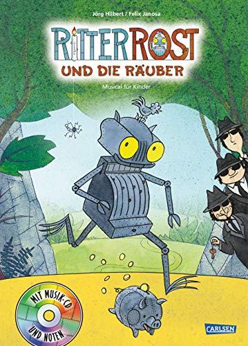Ritter Rost 9: Ritter Rost und die Räuber: Buch mit CD