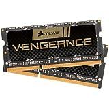 Corsair Vengeance - Módulo de memoria de 16 GB (2 x 8 GB, DDR3, SODIMM, 1600 MHz, CL9) (CMSX16GX3M2B1600C9)