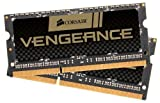 Corsair CMSX16GX3M2B1600C9 Vengeance 16GB (2x8GB) DDR3L 1600Mhz CL9 Enthusiast SODIMM Notebook Memory Kit