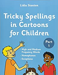Tricky Spellings in Cartoons for Children: Volume 1