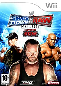 SmackDown Vs Raw 2008 (Wii)