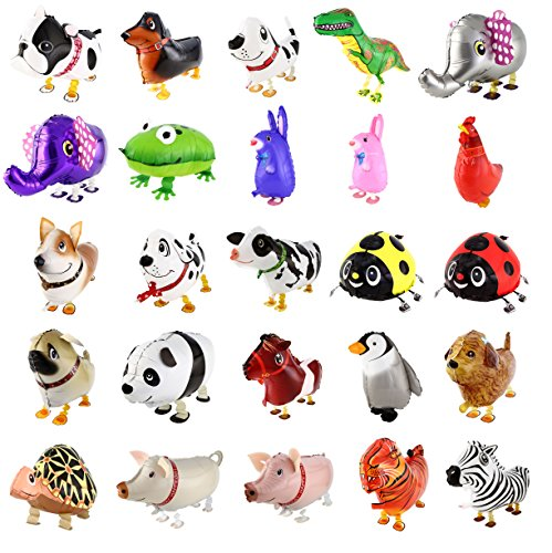 DekoRex® Airwalker Walking Pets Folienballon Foilballoon Tiere: Frosch