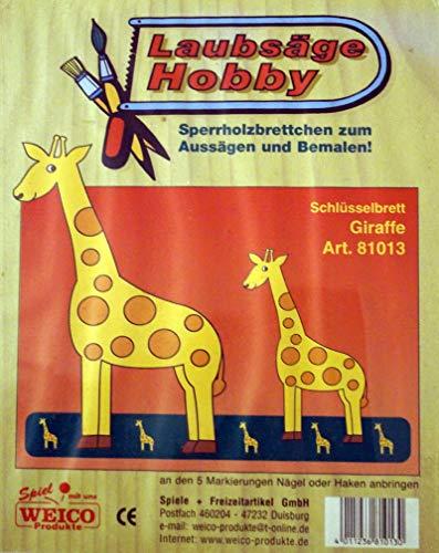Weico Laubsägenvorlage Giraffe
