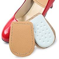 SUPVOX Schuheinlagen verdickt halbe Einlegesohlen Leder Löcher Design Pad Ferse Schmerzlinderung preisvergleich bei billige-tabletten.eu