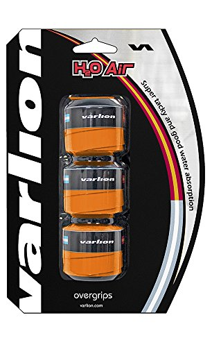 Varlion Overgrip H2O Air - Overgrip de pádel, Unisex, Naranja