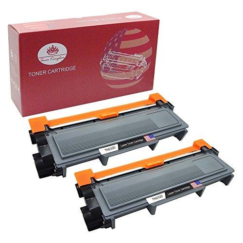 Preisvergleich Produktbild Toner Kingdom 2 Pack Kompatibel Brother TN 2320 TN-2320 Toner für Brother DCP-L2500D DCP-L2520DW DCP-L2540DN DCP-L2560DW MFC-L2700DW MFC-L2720DW MFC-L2740DW HL-L2300D HL-L2320D HL-L2340DW HL-L2360DN HL-L2360DW HL-L2365DW HL-L2380DW