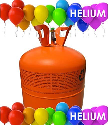 PASAMO Deutsches Marken Premium Helium für 30 Ballons 20cm Ballongas