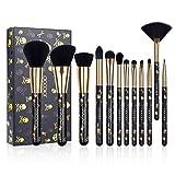 Best Affordable Makeups - Docolor Makeup Brush Set 12 Pcs Goth Skull Review