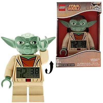 Clic Time CT46144 - Despertador con forma de muñeco Lego de Yoda por Universal Trends Gmbh