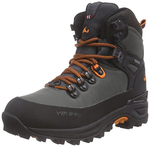 Viking Gaupe Textile GTX, Chaussures de Randonnée Mixte Adulte Gris - Grau (Charcoal/Black 7702)
