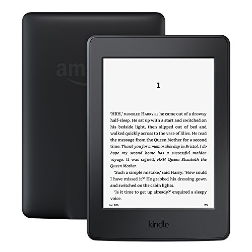 "Kindle Paperwhite–Previous Generation (7th), 6"" Display, Built-in Light, Wi-Fi, Black, with Special Offers"