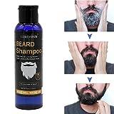 Shampoing Barbe,Beard Shampoo,Shampoing à Barbe,Lavage de Barbe,nettoyage et entretien barbe,l'entretien barbe naturel pour l'homme moderne et idée cadeau,encourage la croissance saine 120ml