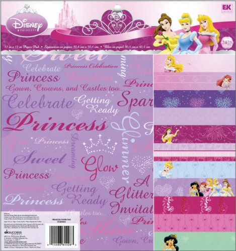 Ariel Scrapbooking (Unbekannt EK Success Disney Princess Deko Papier Pad Packung)