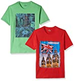Cloth Theory Men's T-Shirt (Pack of 2) (ICSSCNP004_38_Multi-Color)
