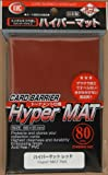 KMC Protectores Hyper Serie Mat Rojo (80 ct.) [VHS]