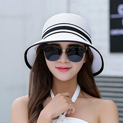 LLZTYM Sun/Sunscreen/Foldable/Sunshade/Sunshade/Summer/Beach/Travel/Straw Hat/Cap/Fisherman Hat/Headwear/Gift/Hat H
