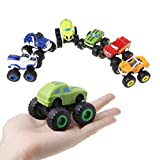 Best LEGO Gift For 3 Year Old Boys - tiyee 6Pcs Blaze Vehicles Racer Cars Trucks Gifts Review