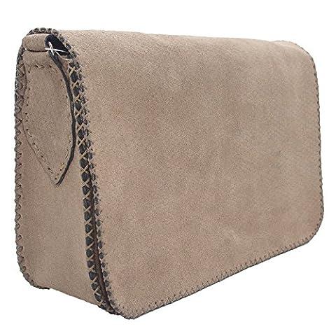 Koson Leather Handgemachte Schultasche Schulter-Handtaschen-Kurierbeutel