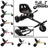 SILI Kart à Suspension Hors Route pour Scooter à équilibrage Automatique à 2 Roues, Conception...