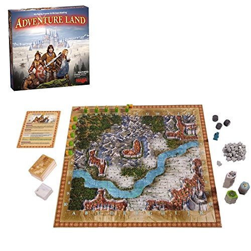 HABA hab301776 Adventure Land Board Game