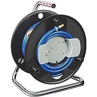 Brennenstuhl Enrollador de manguera para compresor estándar 20m Ø de manguera 6/12mm Guarnición DIN