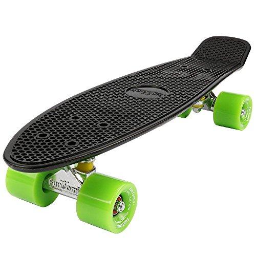 Preisvergleich Produktbild FunTomia® Mini-Board 57cm Skateboard inkl. Aluminium Truck und Mach1® Kugellager