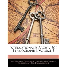 Internationales Archiv Fur Ethnographie, Volume 2