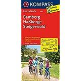 Bamberg - Haßberge - Steigerwald: Fahrradkarte. GPS-genau. 1:70000 (KOMPASS-Fahrradkarten Deutschland, Band 3082)