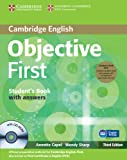 Objective First 3rd Student's Book Pack (Student's Book with Answers with CD-ROM and Class Audio CDs (2))